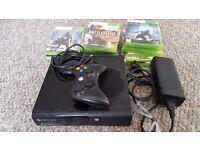 Xbox 360. 250gb hard drive. Wireless controller 17 Games.
