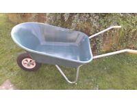 Garden Wheelbarrow hardly used.