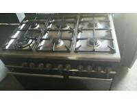 6 ring range cooker