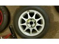 Seat 14 inch alloy wheels c/w center caps