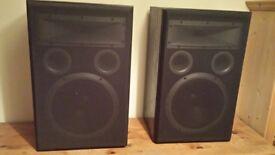 Jamo GF25 250watt hi/dj speakers