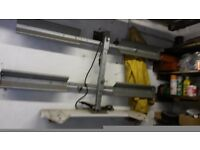 Cycle rack attachment for tow bar