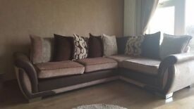 Corner Sofa, Cuddler Chair and Foot rest, Fantastic Condition