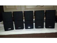 Luxury BOSE 5.1 , 5 double jewel cubic speakers + subwoofer + central unit
