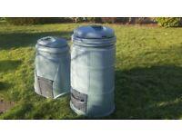 2 Garden Compost Bins