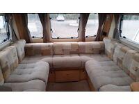 Bailey Pegasus 514. Touring Caravan (2011) Side Dinette Family Van 4 berth - used caravan