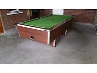 8x4.5 pool table