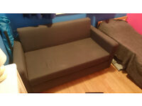 2 seater charcoal sofa bed