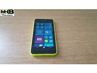 Nokia Lumia 630, 8 GB Internal, 512 MB RAM, Unlocked, Yellow