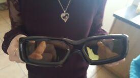 2 x 3d active glasses