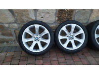 BMW X5 Alloys, E53 Le Mans Sport 20 Alloy wheels with tyres. Original, Genuine BMW
