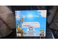 Limited edition white xbox one sunset overdrive edition boxed