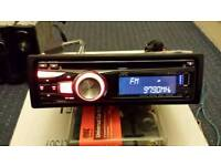 Cd player jvc usb aux in