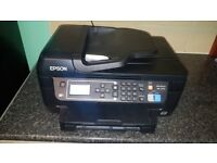 Epson WorkForce WF-2750DWF All-in-One Printer copy scan wifi fax