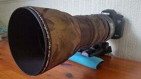 SIGMA 150-500MM TELEPHOTO LENSE. (CANON FIT)