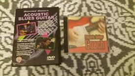 TEACH YOURSELF ACOUSTIC BLUES & ELECTRIC GUITAR (DVD & CD)