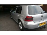 VW Golf GT Tdi Silver in clean beautiful condition- £1200