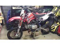 Apollo rfz 150 elite s, brand new 1 hr, top of the range french race bike yz kx rm cr crf pit bike