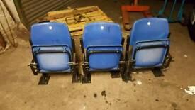 Cardiff city Ninian park seats