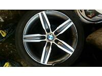 Bmw 1 series alloy wheels came off 2015 1 seried
