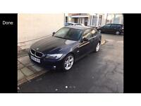 2009 58reg BMW 318d Blue Half Leather drives very well