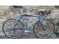 Trek Madone 5.2 carbon fibre road bike (discovery channel colours)
