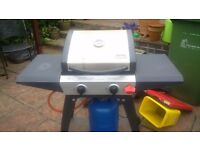 Swiss Gas BBQ with Outdoor Cover