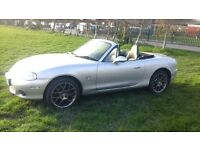 Mazda mx5 1.8 euphonic special addition low miles