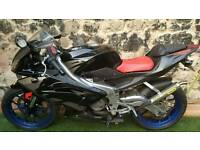 Aprilia RS125 full power 2006 2-stroke
