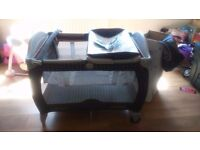 GRACO TRAVEL COT £10 IN GOOD CONDITION