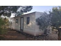 BUY A MOBILE HOME IN SPAIN ON A 50% SHARED OWNERSHIP BASIS..