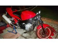 Triumph Daytona 600 Crashed Only good for parts or project