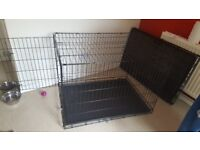 Extra large single door dog cage