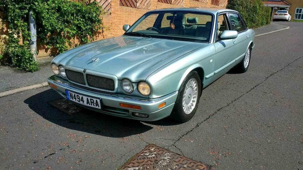 1996 Jaguar XJ6 long MOT, LPG very tidy bodywork