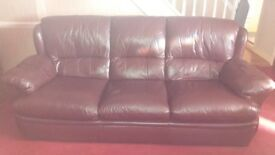 3 seater setee 1 armchair 1 power recliner armchair