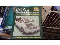 Haynes ford galaxy service and repair manual 95-00
