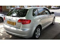 2011 AUDI A3 2.0 TDi SPORTBACK 1 OWNER FROM NEW and FULL SERVICE HISTORY