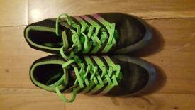 Boys Football Boots AG Spike Microfiber Cleats Teenagers Profession Athletics Ultralight Medium cut