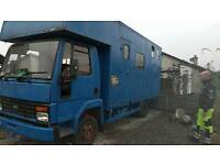 PROJECT HORSE LORRY