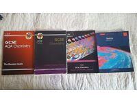 Four Chemistry GCSE Books.