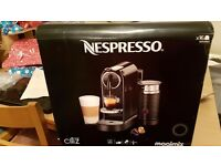 New in box Nespresso citiz coffee maker