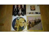 4 x blondie / debbie harry complete picture / french kissin picture disc