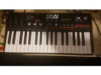 Akai Miniak synthesizer used
