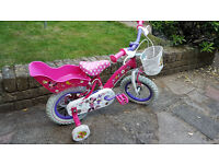 """Disney Mini Mouse Kids Bike 12"""""""