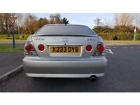 LEXUS IS 200 SPORT 6 SPEED low miles, long mot, excellent condition OPEN TO OFFERS
