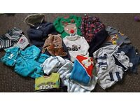 Baby boy clothes 9-12 & 12-18 months