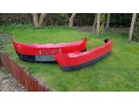 Ford fiesta bumpers front and rear