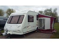 2005 Elddis Avante 524 touring caravan complete with awning £5500