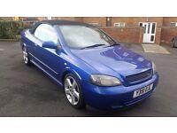Vauxhall Astra 1.8 petrol convertible. SUMMER CAR!!