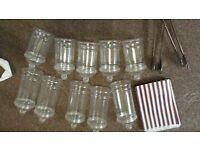 10 Sweet Jars Plastic